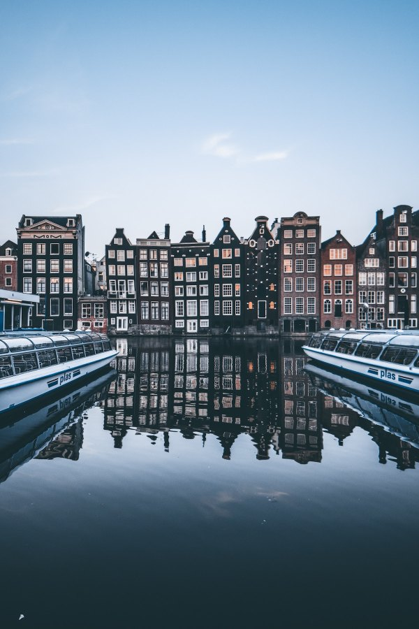 Afternoon in Amsterdam photo by Cedric Klei via unsplash
