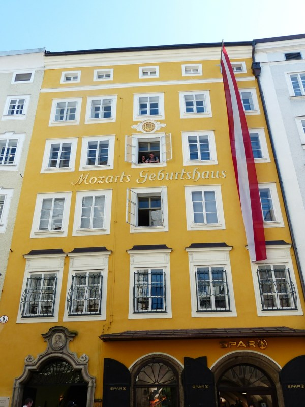 Birth house of Mozart