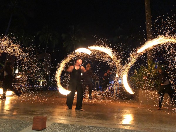 Fire Dancers at The Oriental Leyte