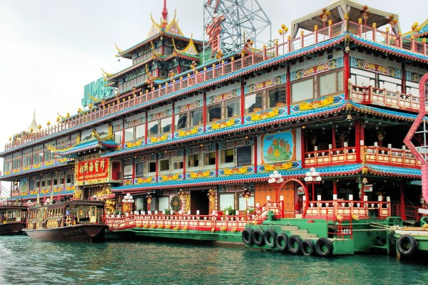 Hong Kong Jumbo Kingdom Floating Restaurant