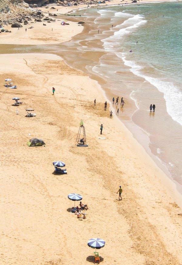 Imsouane Beach by Louis Hansel via Unsplash