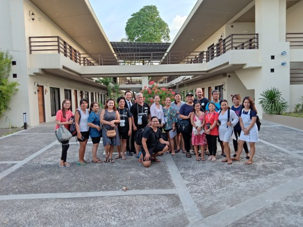 PHILTOA Members and Media Participants at The Oriental Leyte
