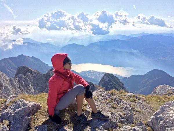 Sarah Berthe - Italian Alps
