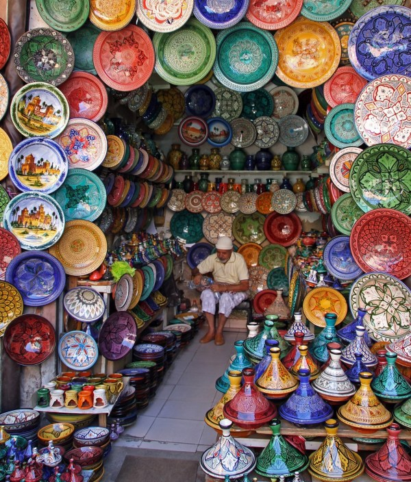 Souks Morocco