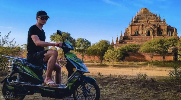 Bagan Electric Bike Tour photo via KLOOK