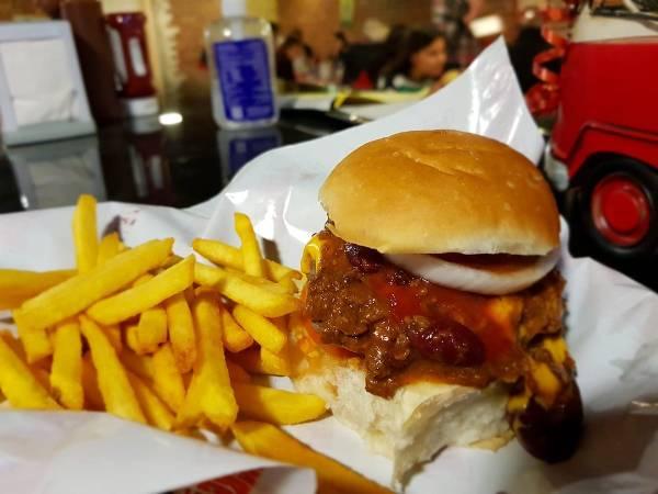 Brisket Restaurant Chili Burger photo via FB Page