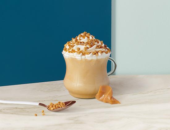 Caramel Cinnamon Cookie Latte
