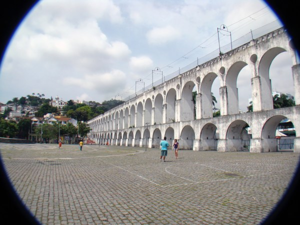 Carioca Aqueduct by Rodrigo Solon via Flickr CC