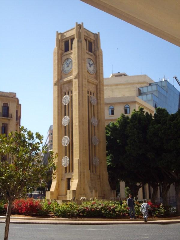 Clock tower Place de l'Etoile