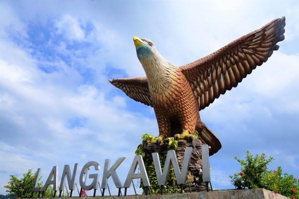 Dataran Lang Eagle Square in Langkawi