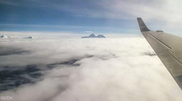 Everest Mountain Flight photo via KLOOK - Things to Do in Kathmandu