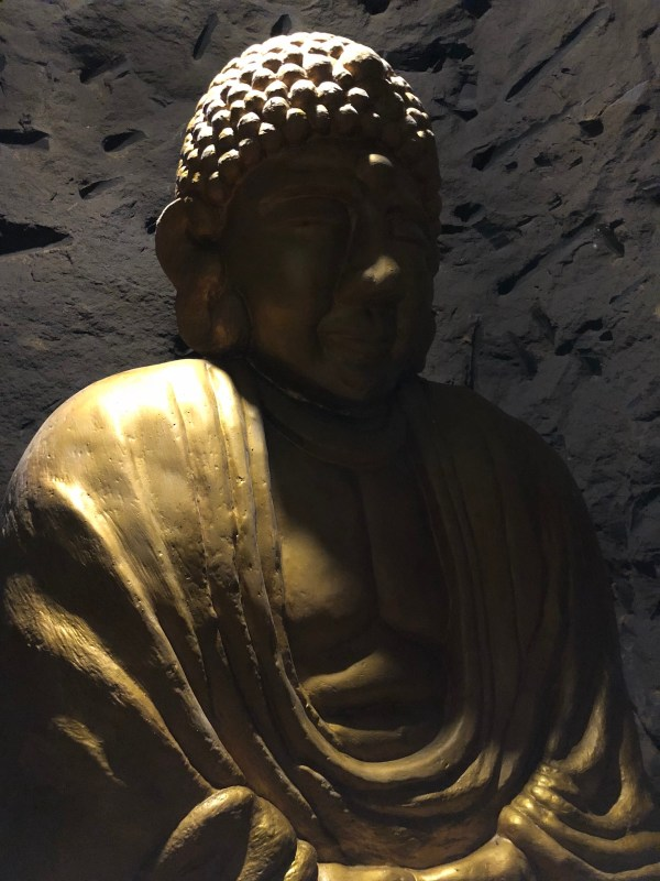 Golden Buddha Replica inside Japanese Tunnel in Ilagan City
