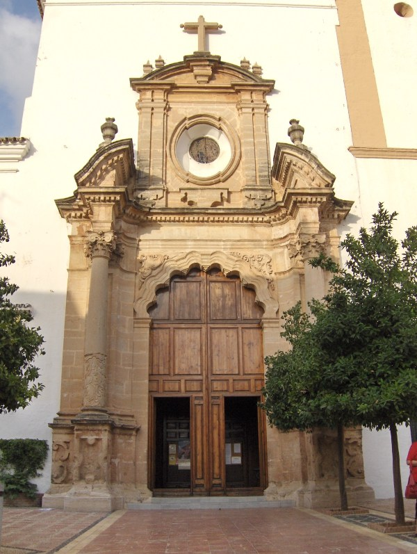 Iglesia de la Encarnacion in Marbella photo by Tyk via Wikipedia CC