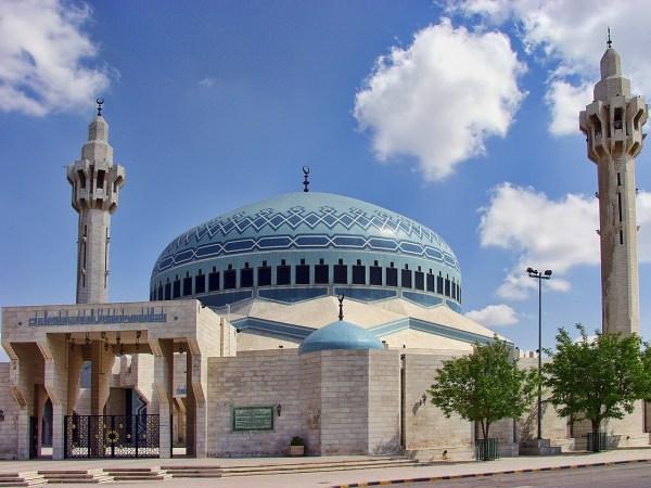 King Abdullah I Mosque in Amman