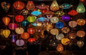Lantern Making in Hoi An Vietnam