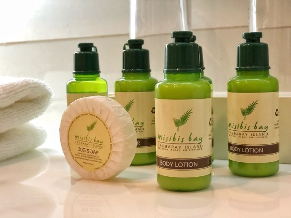 Misibis Resort Toiletries