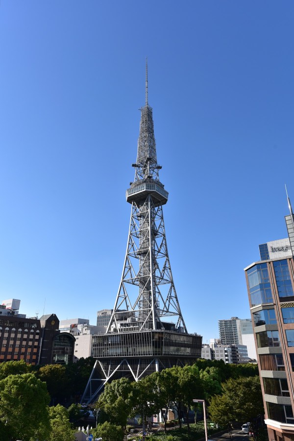 Nagoya TV Tower by Bariston via Wikipedia CC