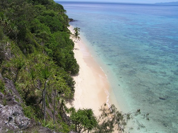 Namena Island in Fiji photo by Annie and John via Flickr CC