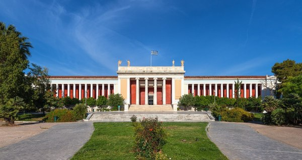 National Archaeological Museum in Athens by Thomas Wolf via Wikipedia CC