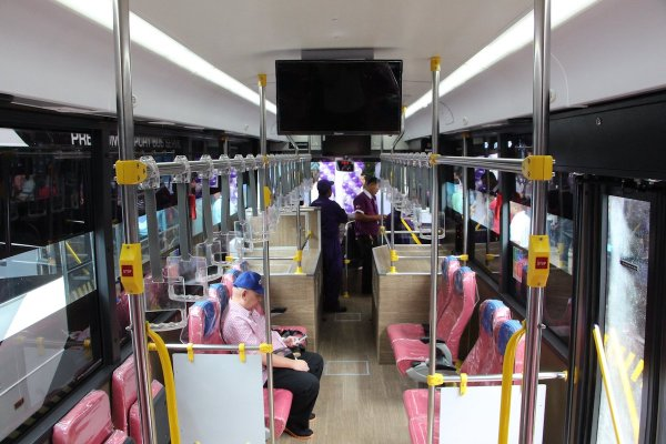 New UBE Express P2P Bus from Quezon City to NAIA photo by Araneta Center FB