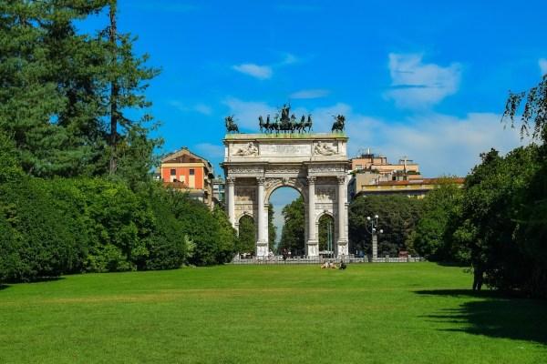 Parco Sempione in Milan