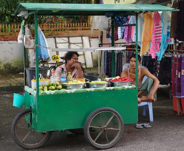 Street Food in Myanmar