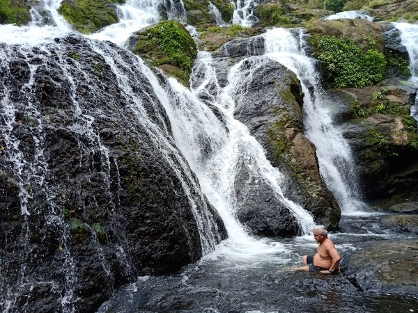 Tarangban Falls in Calbayog City