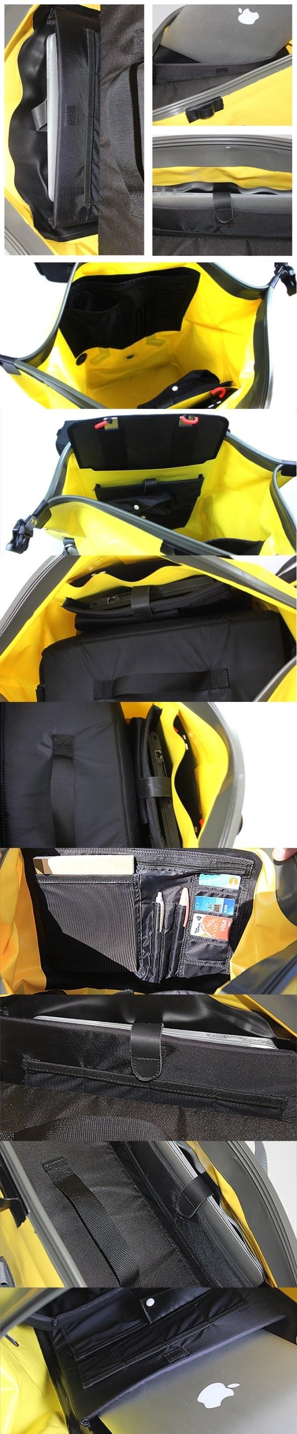 The Inrigo Waterproof Backpack image via Kickstarter