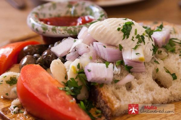 Typical Maltese Snack Platter