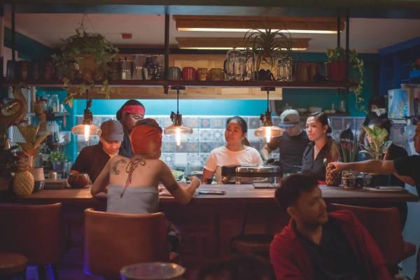 Cosmic Vegetarian and Vegan Restaurant in Makati photo by Keith Dador