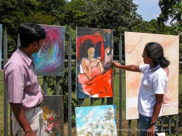 Kala Pola Art Market by Dhammika Heenpella via Flickr CC
