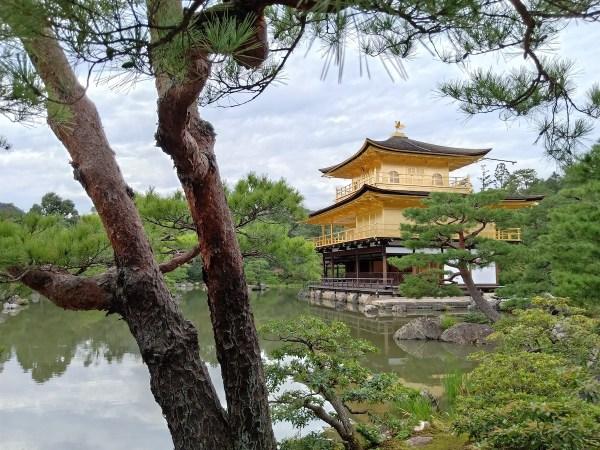 Kinkaku-Ji (Golden Pavilion) Buddhist Temple