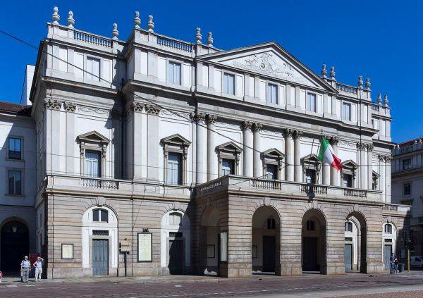 La Scala photo by Jean-Christophe BENOIST via Wikipedia CC