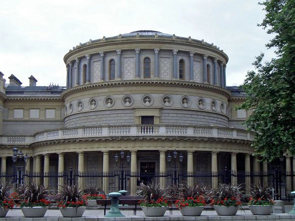 National Museum of Ireland by Mike Peel via Wikipedia CC