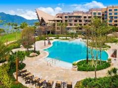 Pool Garden - Disney Explorer's Lodge