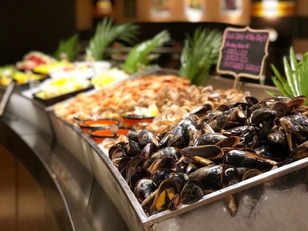 Seafood at Latitude
