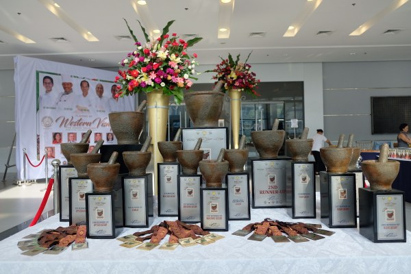 Western Visayas Tabu-An Ilonggo Heritage Cooking Competition Trophies