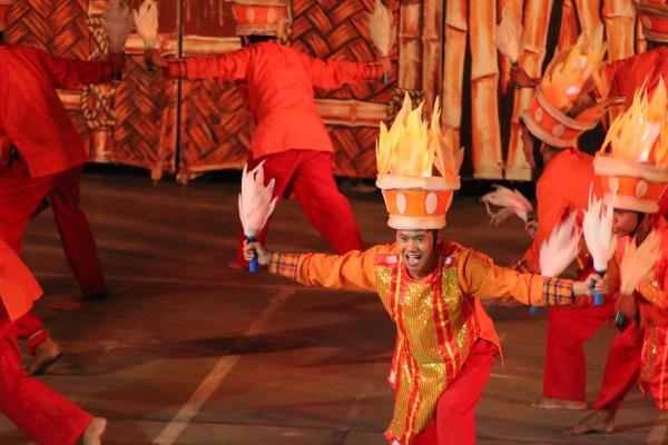 A festival dancer in Anilao Iloilo