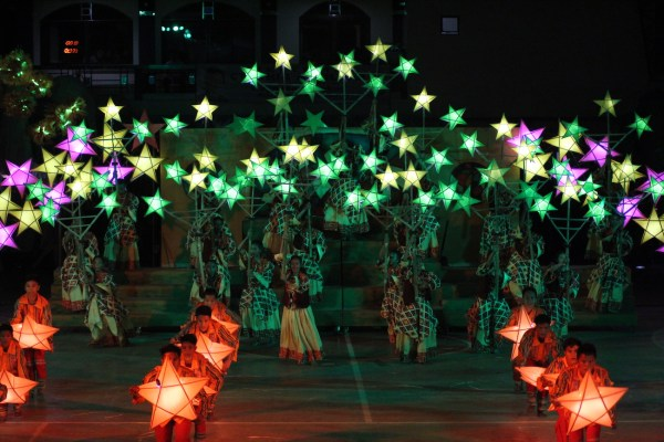 A festival of lights in Anilao Iloilo