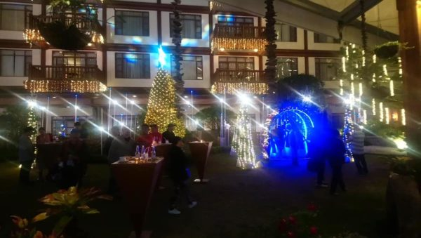 A the earlier part of the event - The Manor at Camp John Hay Ceremonial Tree Lighting Event