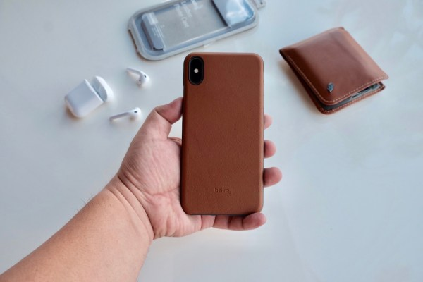 Bellroy iPhone XS Max Case (Caramel Color)