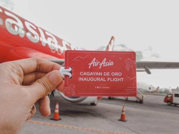 CDO Inaugural Flight - AirAsia Now Flies to Cagayan de Oro from Manila, Cebu, Clark and Iloilo