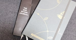 Coffee Bean and Tea Leaf 2019 Giving Journal