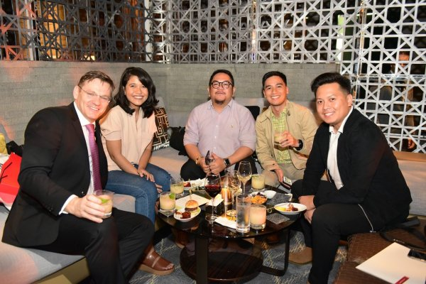 Party with the Grand Hyatt Manila GM Gottfried Bogensperger