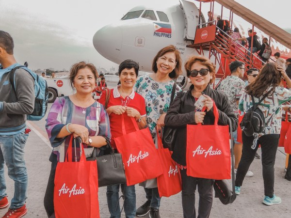 Passengers excited to fly to CDO via AirAsia