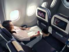 Philippine Airlines bigger space and comfortable Premium seats