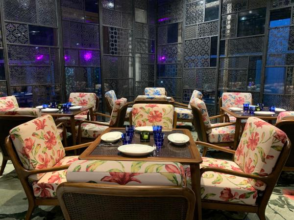 Private Dining Rooms at the Peak