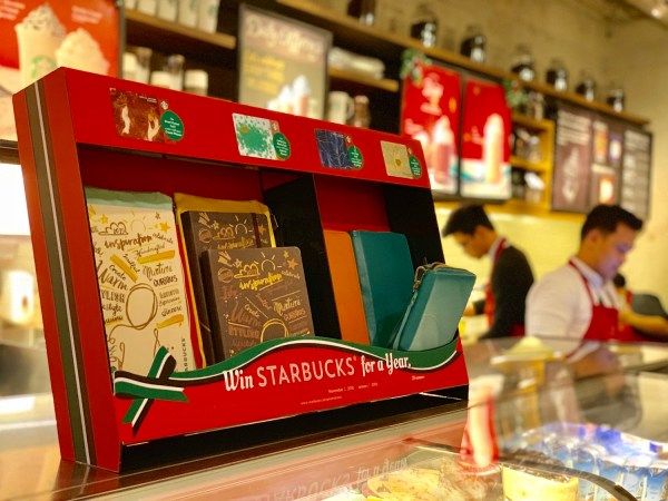Starbucks Philippines Planners and Travel Organizer for 2019