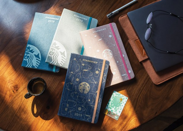 Starbucks Singapore Planner 2019