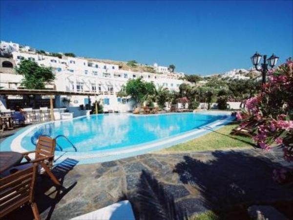 Swimming pool at Leto Hotel in Mykonos